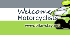 We welcome motorcyclists